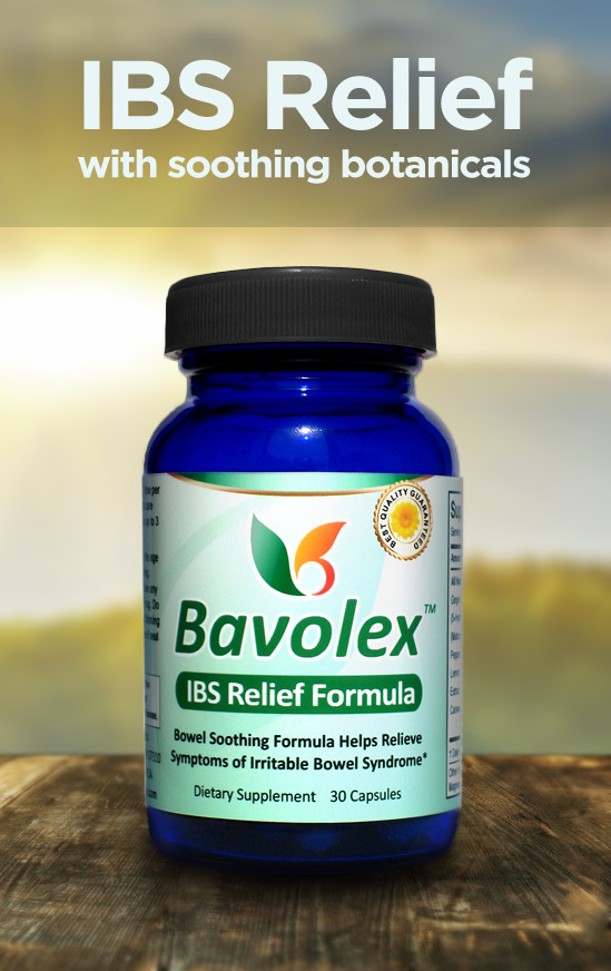 Natural IBS Relief: Bavolex: All-Natural Relief for IBS