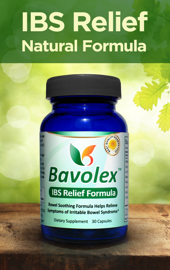 All-Natural IBS Relief - Bavolex - Natural Relief for Irritable Bowel Syndrome